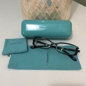 Tiffany and Co glasses with Swarovski crystal